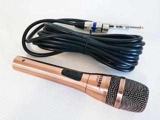 Microfon foarte bun, cu fir lung. Weisre. Nou! Doar 450 lei! Livrare gratuită!