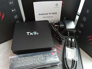 Смарт ТВ-приставка Android Tanix TX9S