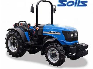 Reducere! Tractor Solis (60 cai, 4x4) pentru lucru in livezi si vii