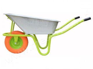 Строительная тачка MasterKraft, колесо пена R-M1/бесплатная доставка!!