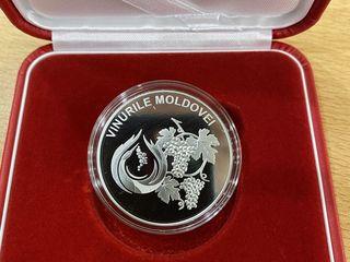 50 lei — Argint — Vinurile Moldovei 2020 Monedă Comemorativă
