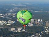 Zbor cu balonul!!! полёт на воздушном шаре!!!