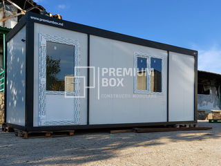 Construcții modulare metalice prefabricate. Termoizolate. Transportabile.
