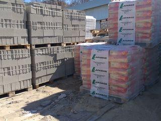 Ciment M400 1450lei.Ciment M500 1575lei,fortan 400lei,ardezie 73lei Rusia, nisip, prundis,transport.
