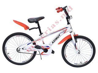 Велосипед двухколесный подростковыйazimut fiber 20 с дюймовыми колесами