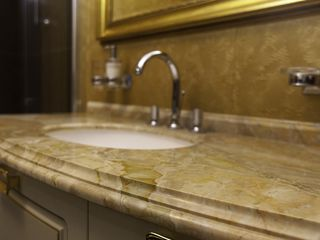 Blaturi de marmură pentru baie / Мраморные столешницы для ванной комнаты