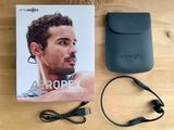 Aftershokzs Aeropex bone conduction headphones