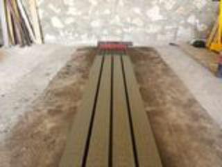 Beton Compozit SRL - Utilaj pentru producerea stilpilor de beton precomprimat pentru livezi si vii