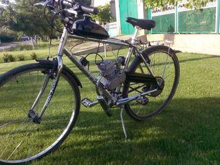 Веломопед, Велосипед с мотором, рама алюминевая, свежак из Германии.