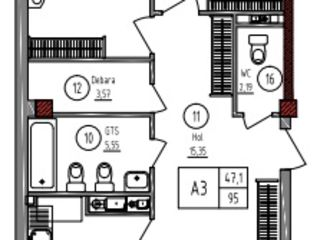 Apartamente 3 camere de vânzare! Complex locativ de clasa premium pe str. Paris. Reducere!
