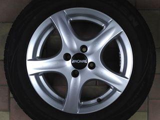 4x100. Легкосплавные колеса Ronal 185 65 R15. VW, Opel, Nissan, Mazda, Honda, Dacia...