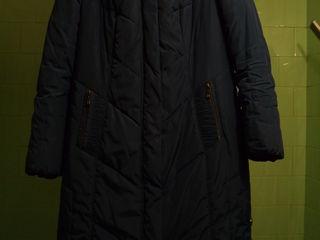 Плащ-пальто зимнее, 52 размер
