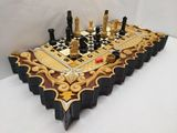 нарды резные шахматы*Карона с Библеискими*эксклюзив