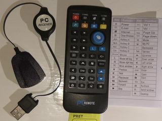 Срочно продам новый пульт, имеет функцию клавиатуры и мышки для компьютера.