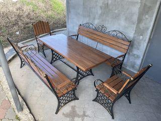 Кованая садовая мебель!