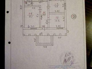 se vinde casa in orasul Floresti, pret 25000 euro (negociabil)