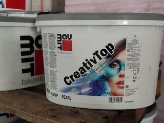 Tencuială decorativă de modelaj Baumit CreativTop Декоративная моделируемая штукатурка