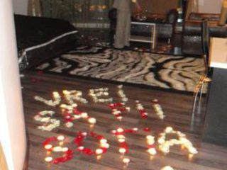 романтический вечер для любимого от 650 lei ,почасова 150 lei