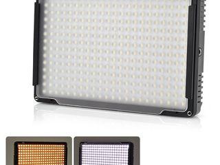 Светодиодные накамерные осветители от компактных до супер мощных.