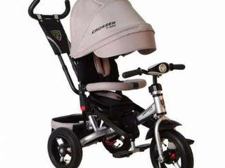 Детский трехколесный велосипед Azimut Crosser T400