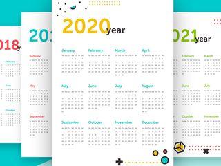 Календари всех типов!