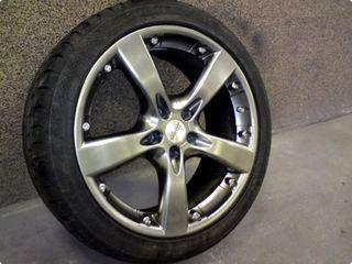 """5x120 17"""" 8j H2 диски титановые на BMW и VW T5 T6 Jante"""