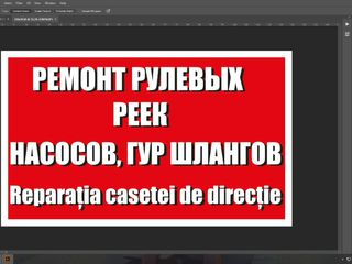 Reparatia Casetelor de Directie-1zi de la100lei-Garantie /РемонтРулевыхРеек-Професионально-Гарантия