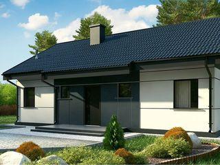 Новый современный дом с тремя спальнями и большой гостиной-кухней
