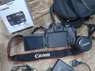 Фотоаппарат и объективы canon