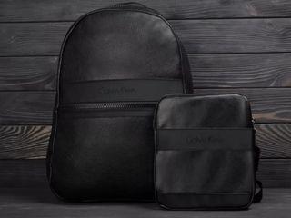 Рюкзак Calvin Klein спортивный кожаный