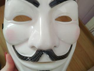 Продам маску V for Vendetta/ Se vinde masca V for Vendetta