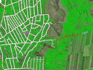 Vind teren agricol 0,51 ha, amplasat la 5 km de Chisinau. 60 euro/arul, negociabil, Bubuieci