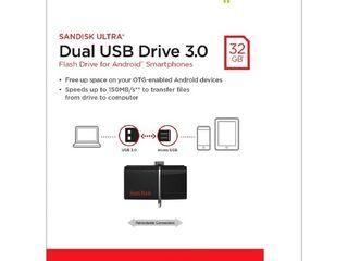 32GB Dual USB Drive 3.0 SanDisk Ultra - Preț redus !