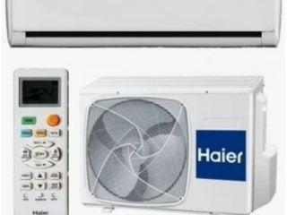Haier- продажа, монтаж, демонтаж, пред-монтаж новострой, чистка, заправка хладогентом.