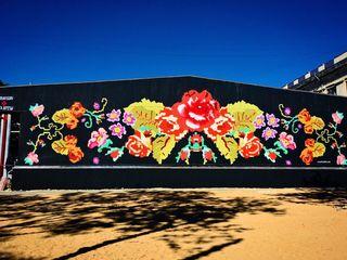 Граффити,стрит арт,художественное оформление интерьера и экстерьера.