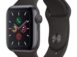Apple Watch Series 5 Space Grey Aluminium Case 40mm Black Sport