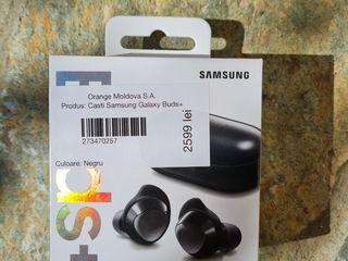 Samsung Galaxy Buds+ Black (sigilate)