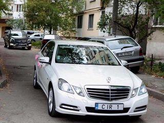 Mercedes albe/negre (белые/черные) - 15 €/ora (час) & 79 €/zi (день) cu sofer