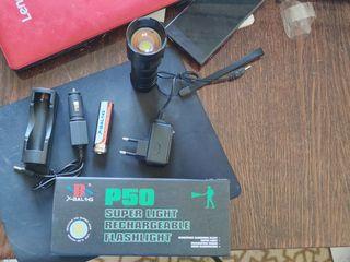 Фонарь аккумуляторный ручной BL 8900-P50