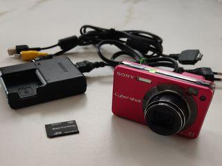 Продам цифровой фотоаппарат Sony Cyber-Shot DSC-W150 Red