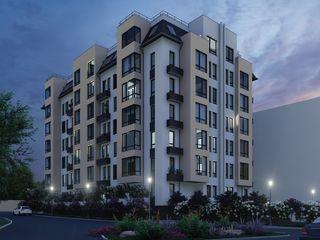 Astercon Grup - apartament cu 3 odăi suprafața 83.55 m2, de la 590 €/m2, mun.Chișinău, com.Stăuceni