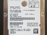 HDD 2.5 500GB notebook