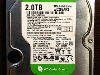 """HDD Western Digital 3.5"""" на 2Tb!"""