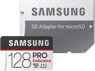 MicroSD Samsung PRO Endurance SanDisk High Endurance Transcend 128Gb