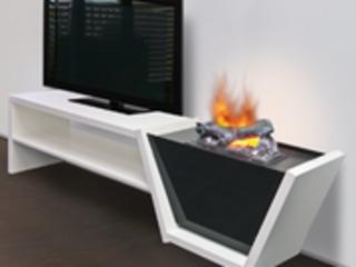 Электрокамины Dimplex с эффектом реального пламени и дыма.