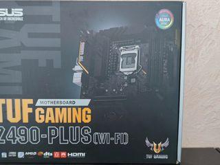 Материнская плата Asus TUF Gaming Z490 Plus (WI-FI)