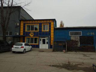 Объект расположен в индустриальной зоне на Чеканах.