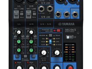 Mixer analogic Yamaha MG06X. livrare în toată Moldova,plata la primire