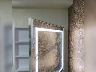 Oglinda led cu dulap la comda
