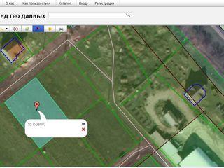 Продаем участок 10 соток под строительство, в сел.Суручены, 10 км. от Кишинева